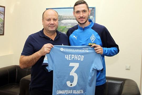 Никите Чернову уже присвоили номер