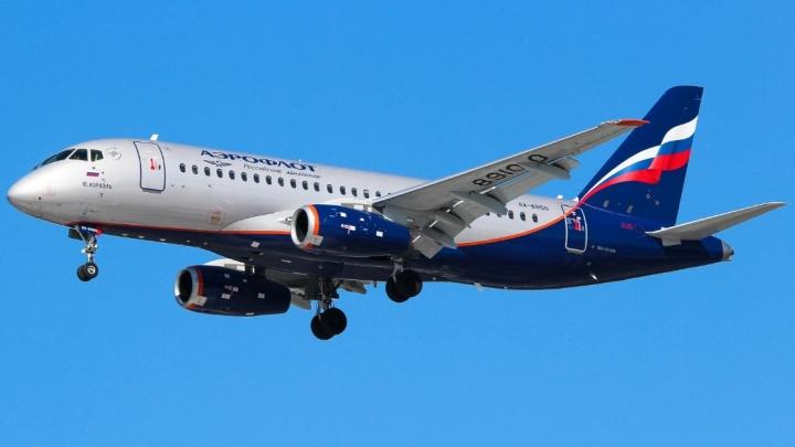 Самолет «Аэрофлота» не долетел до Волгограда