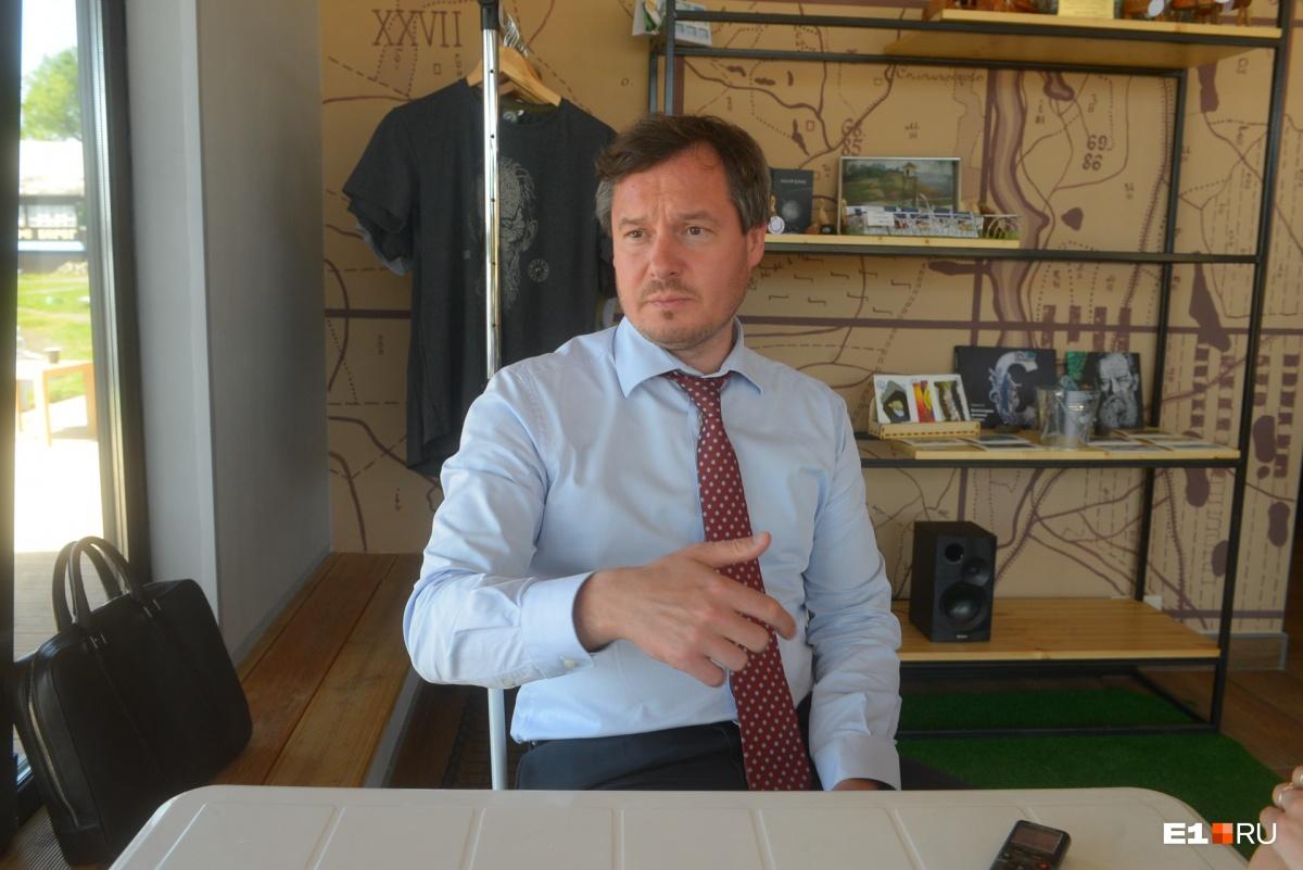 Глава Сысертского округа Дмитрий Нисковских верит в успех проекта