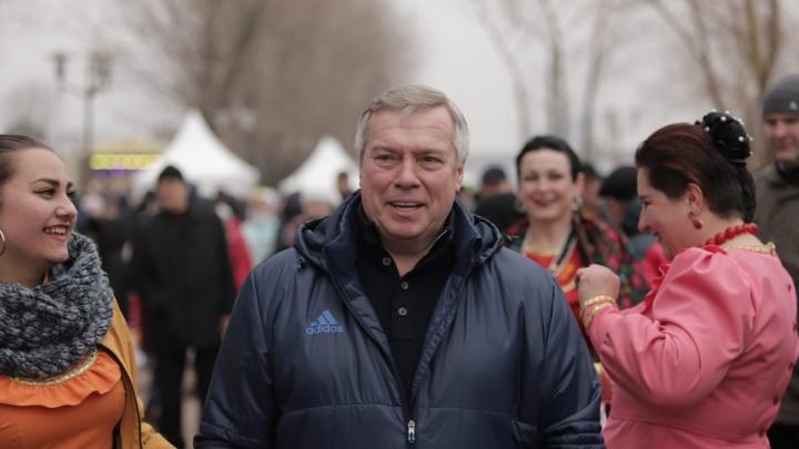 Широкий жест: губернатор покаялся перед ростовчанами