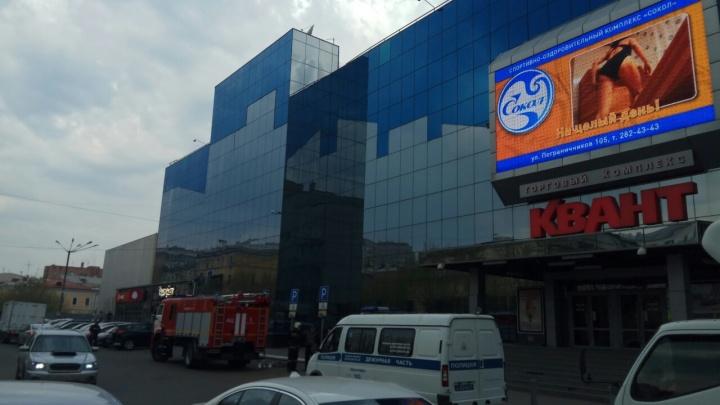 В Красноярске второй день подряд «минируют» торговые центры