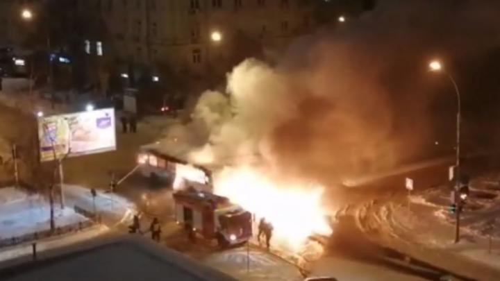 «Машина выработала свой ресурс»: производитель загоревшегося автобуса рассказал о причинах пожара