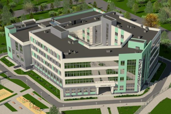 Так через год будет выглядеть школа №32 в Рабочем городке
