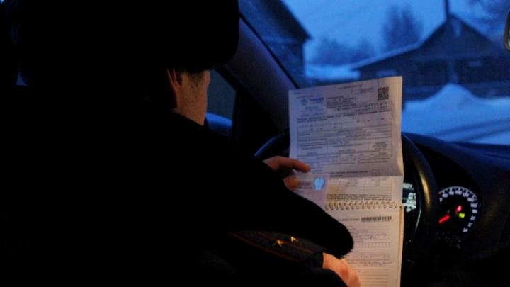 Богучанец спрятал дочь между сиденьями авто, чтобы избежать штрафа