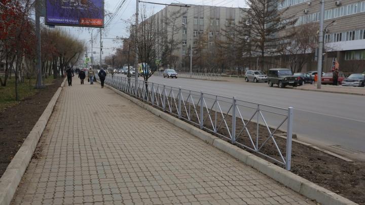 На Красноярск надвигаются дожди со снегом