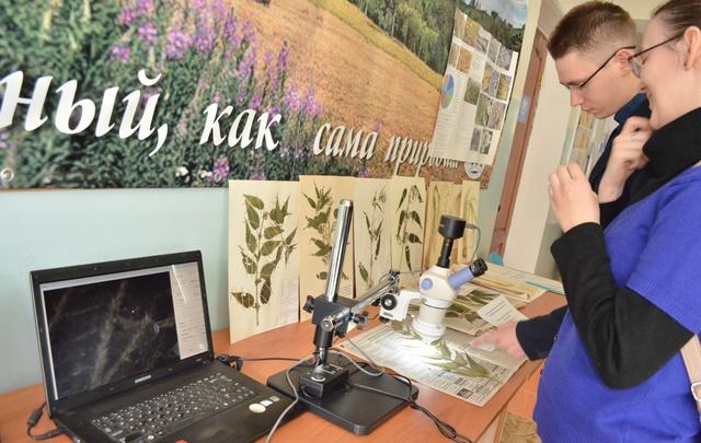 На выставке курганские студенты представили работы по экологической безопасности