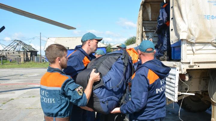 «Все пожары в районе потушены»: из Богучан вывозят группировки пожарных