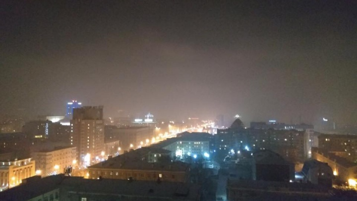 Фото: Новосибирск окутал туман