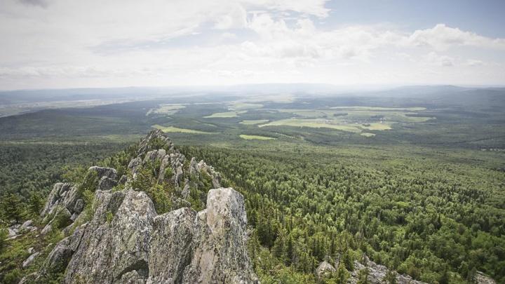В Башкирии на горе Малиновой проложили маршрут выходного дня