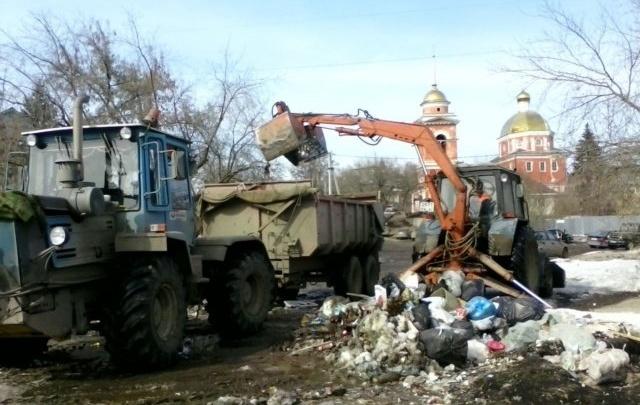 В Уфе ликвидировали свалку около Покровского храма