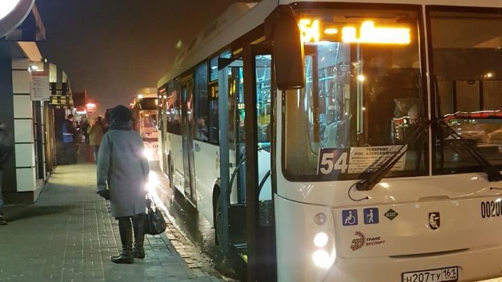 Ростовские чиновники не нашли нарушений в работе городского транспорта