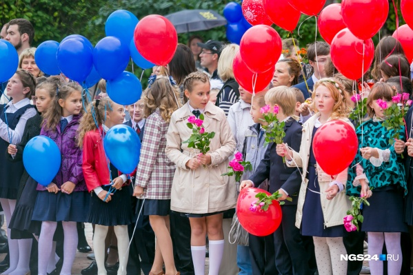 Собрать школьника в Красноярске и Новосибирске оказалось дороже, чем в Москве и Санкт-Петербурге