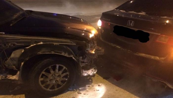 Авария произошла в 18:20