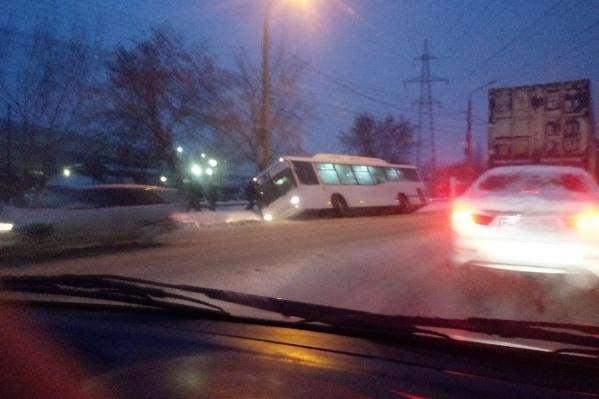 ГИБДД на место аварии никто не вызывал