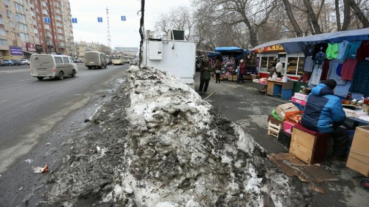 «Осталось навести порядок»: власти Челябинска отчитались об уничтожении рынка на Доватора