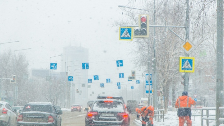 Снегопад, прошедший в выходные в Самарской области, побил рекорд 2013 года