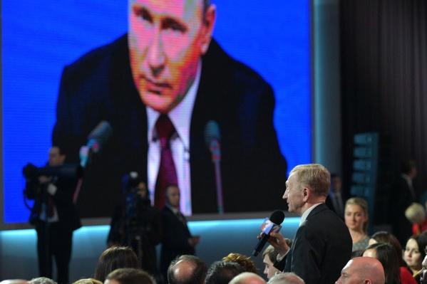 Телеканалы заложили на пресс-конференцию три часа. Хватит времени?