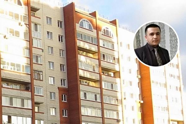 В этом доме на Малиновского находится квартира задержанного Фарруха Махкамова