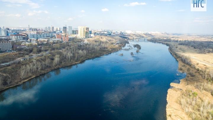 Берега Енисея в черте города признаны объектом археологического наследия