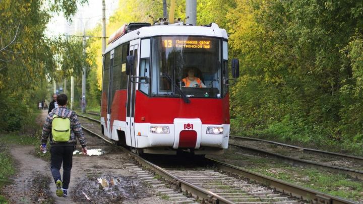 Стало известно, почему трамвай №13 в дни матчей ходит по короткому маршруту