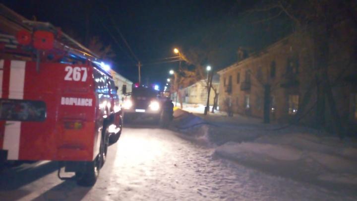 Две маленькие девочки пострадали в пожаре на севере Свердловской области
