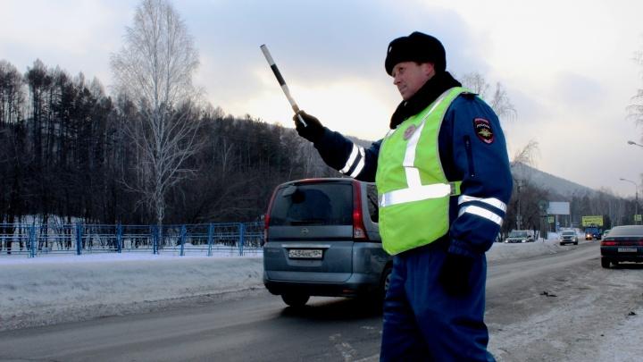 У любителя пьяной езды в Назарово отобрали права до 2045 года