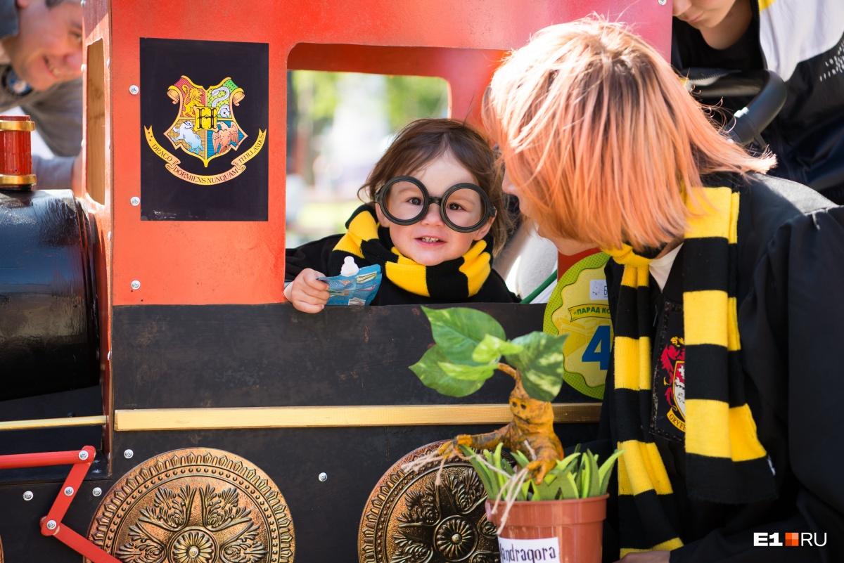 Юный Гарри Поттер