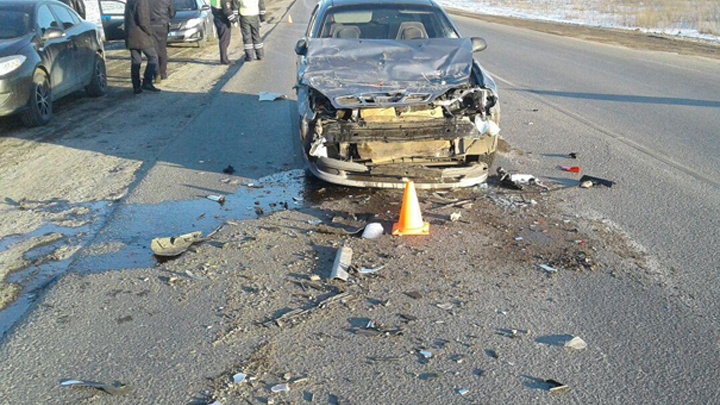 В тройном ДТП в Башкирии пострадал водитель
