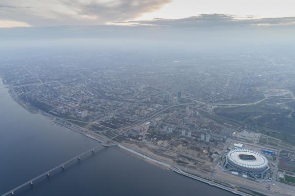 В Волгограде будет ощущаться нулевая температура