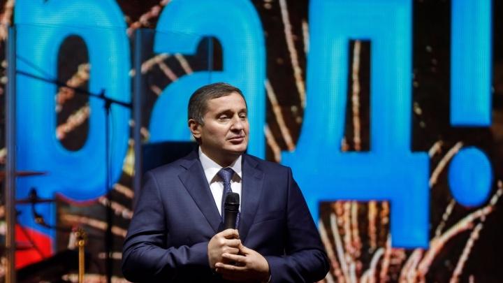 «Десятков миллионов лет эти мечты»: Андрей Бочаров презентовал объезд Волгоградана форуме в Сочи