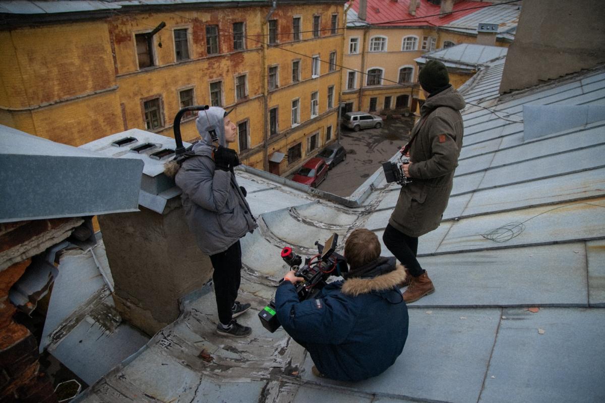 Съёмки проходили в Санкт-Петербурге