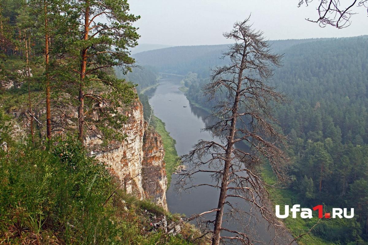 Вид на реку Ай