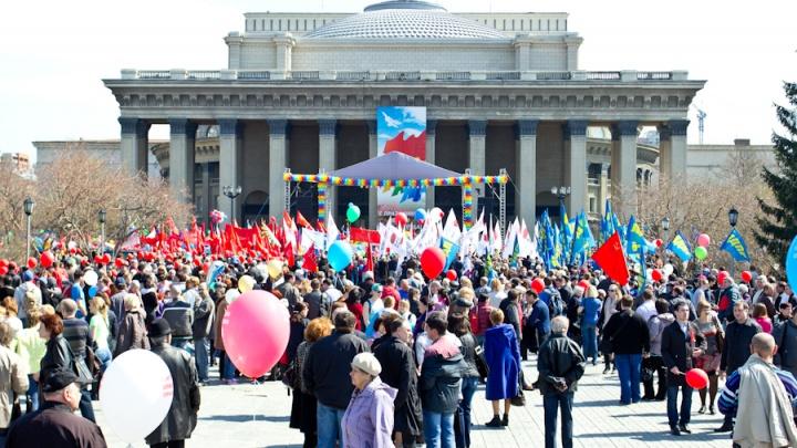 Марш двух миллионов: власти заказали сцену и проведение шествия на Первомай