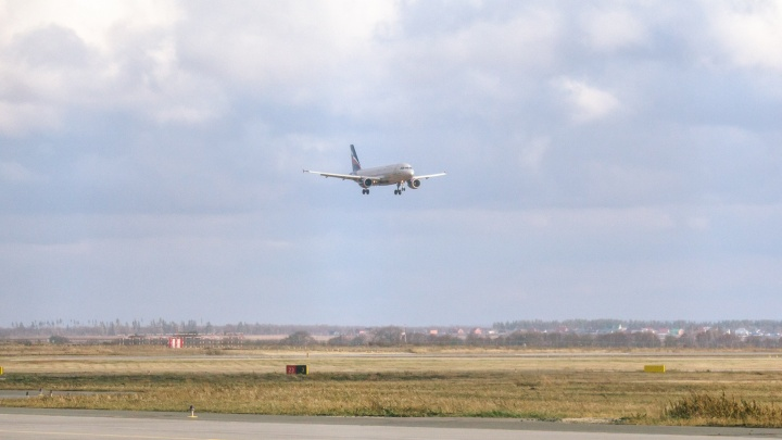В Самаре экстренно сел самолетСанкт-Петербург — Наманган