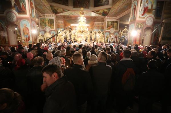 Вознесенский кафедральный собор является главным храмом Новосибирской епархии