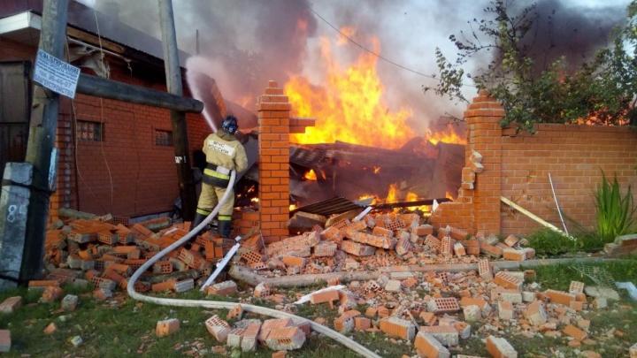 Всё про взрыв газа в Боровском