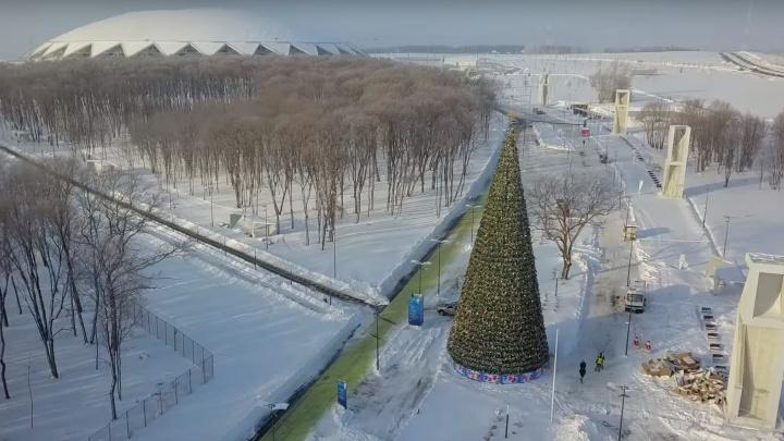 Битва снежками и бег в валенках: «Олимпийская деревня» у «Самара Арены» обойдется в 44 млн рублей