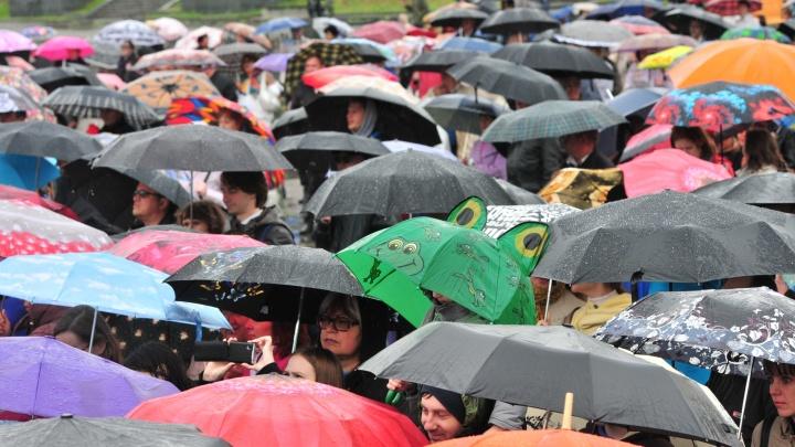 Побежим под дождём: в день марафона «Европа — Азия» синоптики объявили штормовое предупреждение