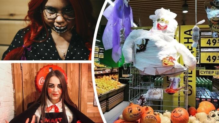 Халк из качалки, Джокер и пушистый Дракула: разглядываем 10 лучших фотографий Хеллоуина в Тюмени