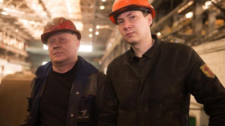 Парни из стали: большой производственный репортаж к 23 февраля