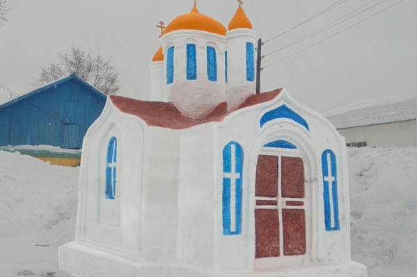За основу взяли часовню Святого Николая