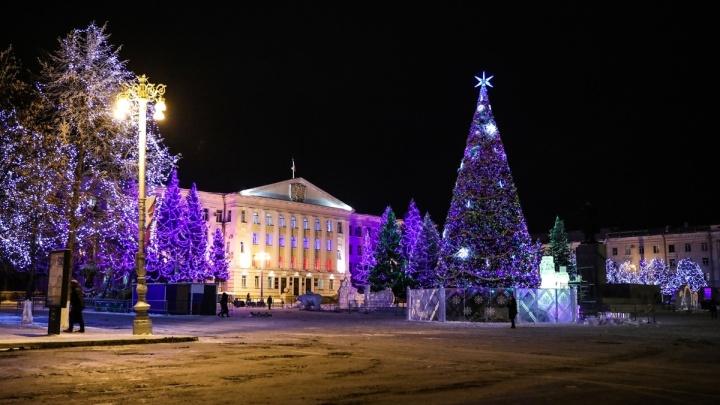 В Кургане увеличат количество гирлянд для новогоднего украшения центра города