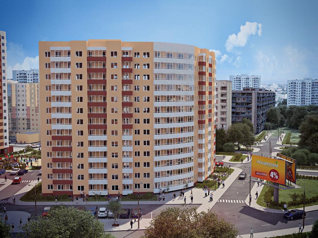 Новый дом продолжит формирование современного жилого квартала по ул. Якутская