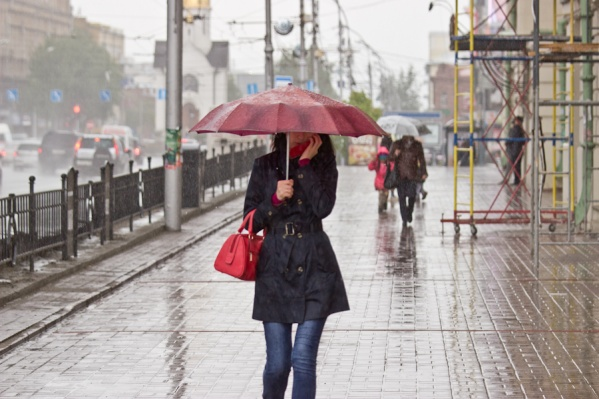 Сегодня в Новосибирске ожидается всего лишь +5 градусов