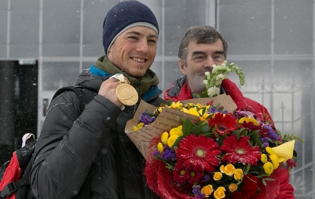 Уфимец Антон Бабиков стал лишь третьим на чемпионате России по биатлону