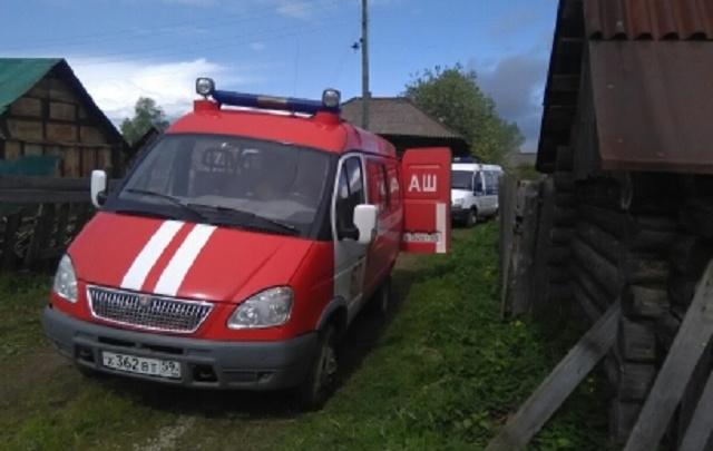 В Прикамье на пожаре погибли три человека: возбуждено уголовное дело