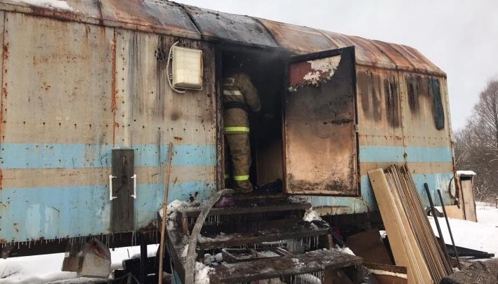 По факту гибели ребенка в пожаре в Иглинском районе следователи возбудили уголовное дело