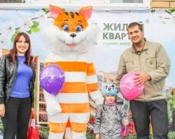 В Уфимском районе 72 семьи получили ключи от новых квартир