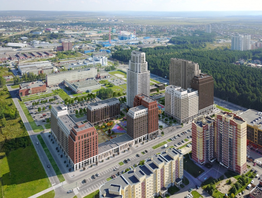 В каком районе Екатеринбурга лучше поселиться  Сайт