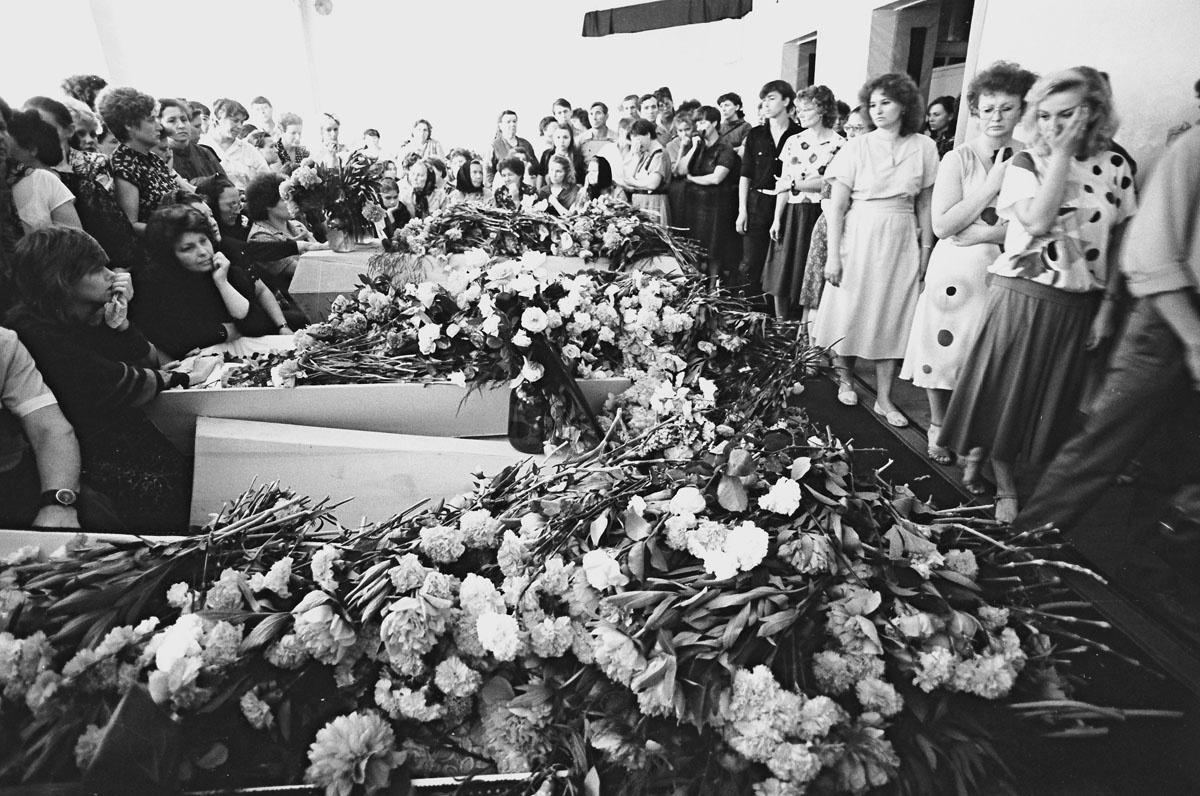 5 июня 1989 года в стране был объявлен всесоюзный траур